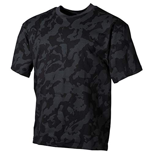 MFH 00104D US Army Herren Tarn T-Shirt (Night Camo/XXL)