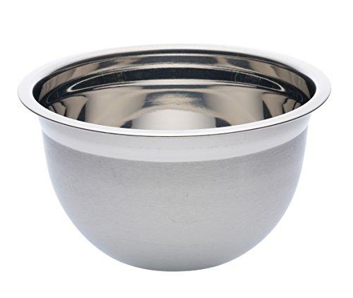 Kitchen Craft Deluxe Ciotola rotonda in acciaio INOX, 2 litri