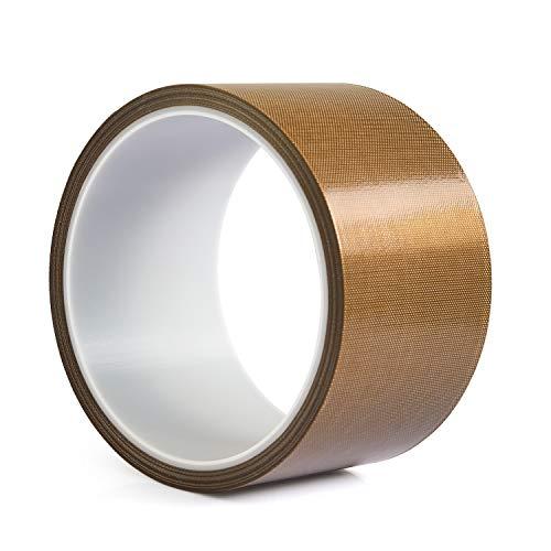 Cinta de teflón/PTFE, cinta adhesiva de alta temperatura para máquina de envasado al...