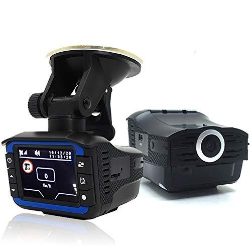 Cámara de salpicadero Dash Cam,Detectores de radar de velocidad, cámara de salpicadero para Coches con Full HD 140 Grados Super Gran Angular, Pantalla TFT de 2 Pulgadas, Sensor G, visión Nocturna, WDR