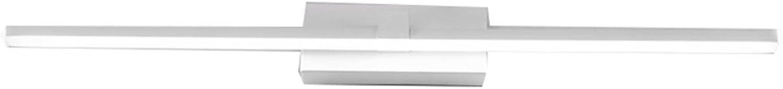 Moderne Einfachheit Badezimmer Wc LED Spiegel Front Licht Aluminium Material Make-up Lichter Wandleuchte Wasserdichte Spiegel Schrank Lichter (Farbe   Weies Licht-60CM12W)