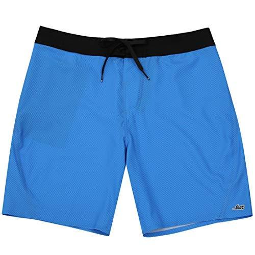 Lost Surfboards Carbon Welded - Pantalón corto para tabla de surf de 19', color azul TRC Trc The Razor Cyan 28