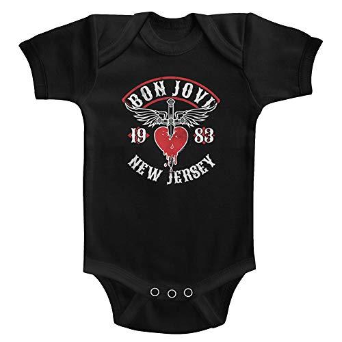 Bon Jovi 1983 New Jersey Baby Onesie