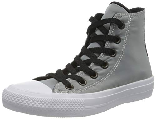 adidas Damen Chuck Taylor All Star II Sheen Mesh High Basketballschuhe, Grau (Grau Grau), 37 EU