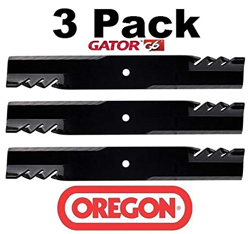 Oregon 3 Pack 396-730 G6 Gator Mulcher Blade for John Deere TCU15881 M144196