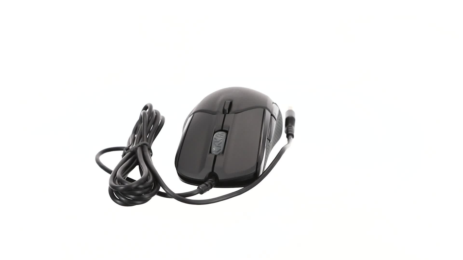 SteelSeries Rival 310 - Ratón de Juego Óptico - Iluminación RGB - 6 Botones - Laterales de Goma - Memoria Integrada - PC/Mac - Negro