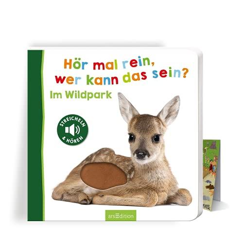 Buchspielbox Hör mal rein, wer kann das Sein? Im Wildpark + Zoo-Wimmel Übersicht