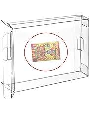 RUITROLIKER 10Pcs Clear Case Boîtier CIB Protecteur pour NEO GEO Pocket color NGPC Jeux Cartridge Box
