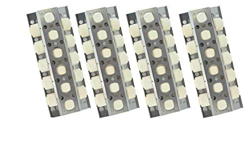 Turbo CG3CKW, CG4CKW, CG3TCBN, CG3TDBRN, CG3TDN, CG4TCBN, CG4TCBRN, Elite XG3TDN, XG3TCN, XG4TCN, XG5TDN (4-PK) Ceramic Briquettes Heat Shield