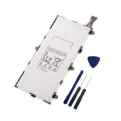 WXKJSHOP - Batería de repuesto para Samsung Galaxy TAB 3 7.0 SM-T210 T211 T215 Series T4000E (3,7 V, 4000 mAh)