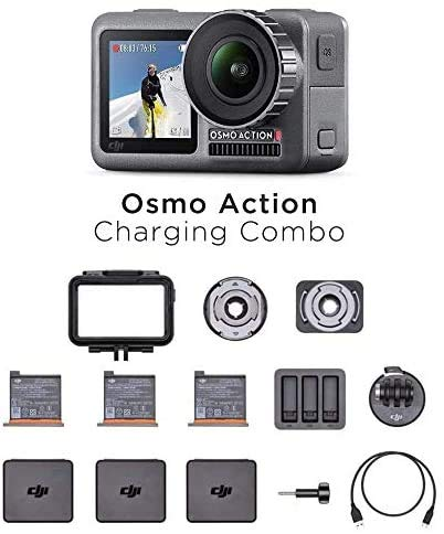 DJI Osmo Action Charging Combo [110 € discount with offer of the day]