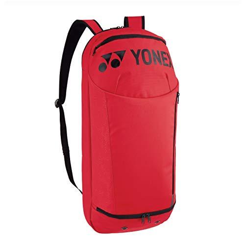 YONEX 42014 Rucksack, für Badminton-/Tennisschläger, Rot