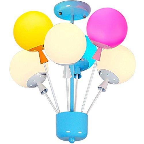 Lustre Minimaliste Moderne De Ballon Chambre Des Enfants Garçon Et Fille Lampes Décoratives Créatif Américain LED Plafonnier