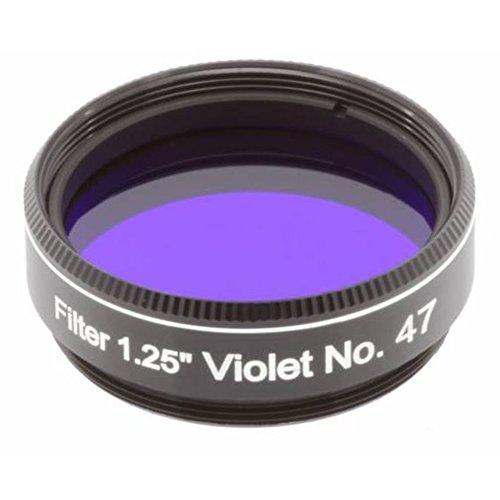 Explore Scientific Filter 1.25 Inch No. 47 for Telescopes Purple