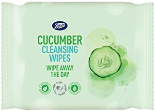 Boots Cucumber Cleansing Wipes 25s. (6 Pack)