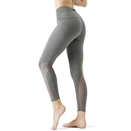 CHICMODA Yoga Pants Capri Hose Damen Sport Leggings Jogging Hose mit Versteckte Tasche