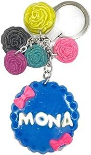 Ceramic Key Chain - In the name of Mona