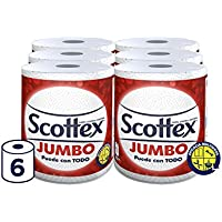 Scottex Jumbo Papel de Cocina - 6 rollos