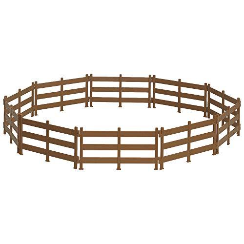 Breyer Freedom Series (Classics) Horse Corral Fencing Accessories Set | 10Piece Accessory Set | 1: 12 Scale (Classics) | Model #61064