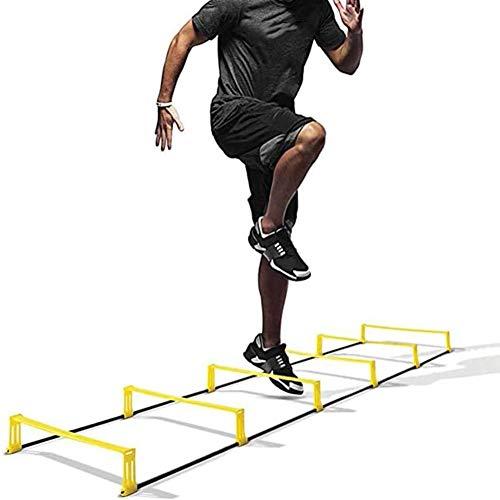 FDYD De Doble propósito ágil Escalera Escalera de Vallas Velocidad de Entrenamiento de Salto de cuadrícula para la Aptitud Pace Coordinación de Baloncesto del pie El Tren del Equipo