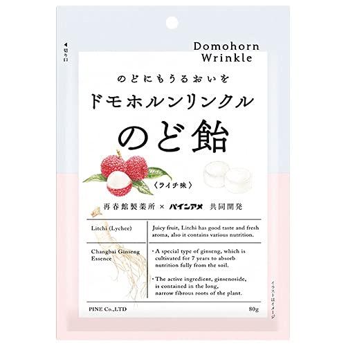 パイン ドモホルンリンクル のど飴 80g×6袋入×(2ケース)