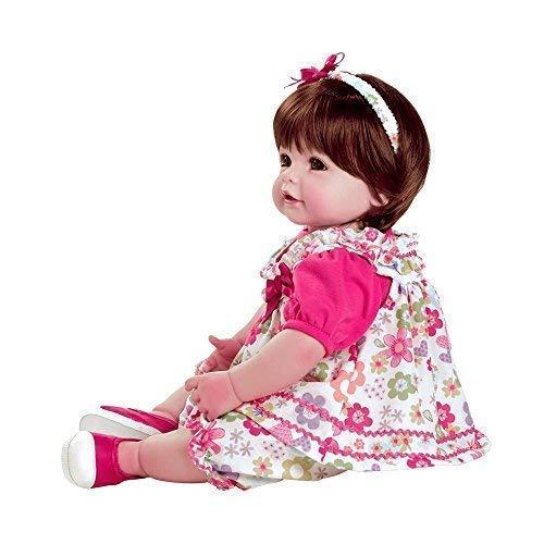 Adora Realistic Baby Doll Love & Joy Toddler Doll - 20 inch, Soft CuddleMe Vinyl, Brown Hair, Brown Eyes