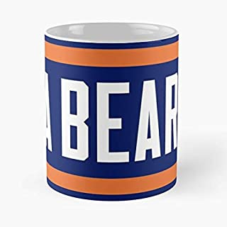 Chicago Bears Bear Down Beers - Funny Gifts For Men And Women Gift Coffee Mug Tea Cup White 11 Oz.the Best Holidays.