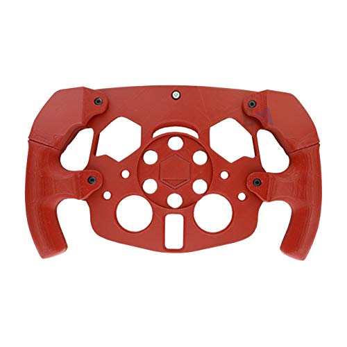 Modifica Volante corona F1 Mod Sterzo per Logitech G29 G27 Stampato 3D Modello Formula Rosso Opaco 1 Kit Tasti L2 R2 L3 R3 Azzurro Compreso
