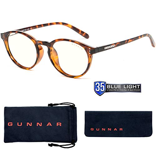Computer Reading Glasses | Blue Light Blocking Reading Glasses| Attache Pwr 2.50/Tortoise by Gunnar...