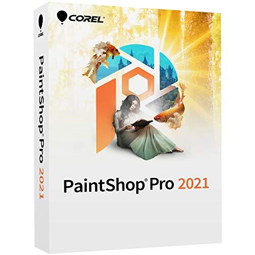 Corel PaintShop Pro 2021 | Software di fotoritocco e progettazione grafica | Funzionalità supportate dall'AI [disco per PC]