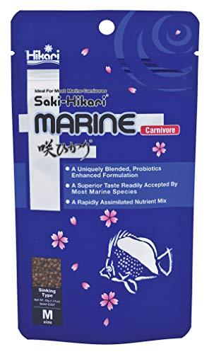 Hikari 042220 Carnivore Medium Sinking Pellets Marine Fish Food, One Size
