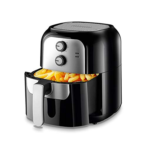 HLR Sandwich Paninitoaster Air Fryer huishouden 6 l grote capaciteit, friteuse, olievrij voor braaden, roosteren, naverwarming en dehydraterende