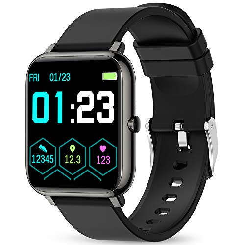 Smart Watch, KALINCO Fitness Tracker with Heart Rate Monitor, Blood...