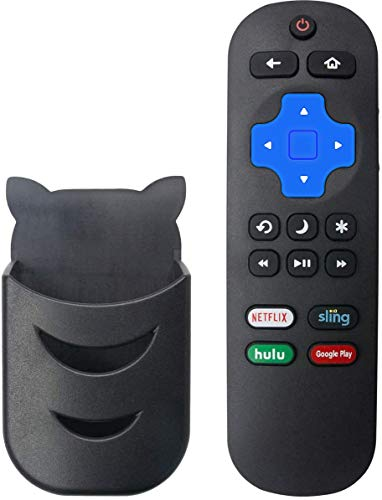Motiexic Remote Control Compatible with Insignia NS-RCRUS-17 Roku TV NS-32DR420NA16 NS-32DR420NA16A NS-32DR420NA16B NS-40DR420NA16 NS-40DR420NA16B NS-43DR710NA17 NS-48DR420NA16 NS-32dr310NA17