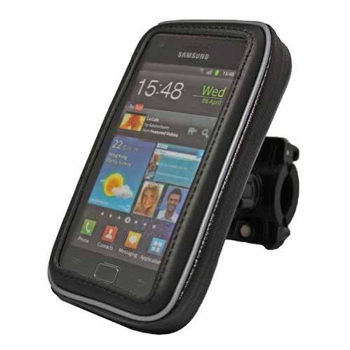 Rocina Motorrad/Fahrrad Tasche Big Set für Base Lutea 3 / Nokia Lumia 920