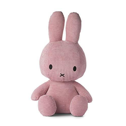 Miffy Cord-Plüschfigur (50cm) Kuscheltier Stofftier (rosa)