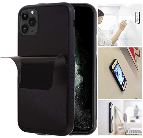 Anti Gravity Phone Case with Dust Proof Film, Magic Nano Sticky Suction Stick to Gym Mirror Wall, Selfie Case for iPhone 11 Pro Max (2019) (11 Max)
