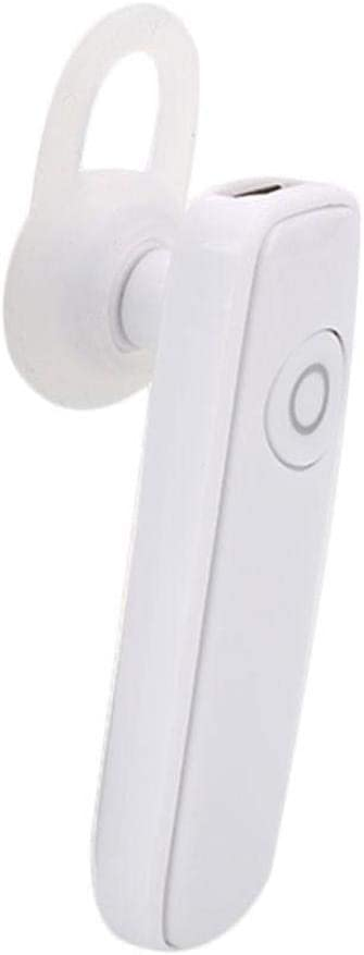 Bluetooth 4.1 Headphones Sport Business Music Talk Stereo Earphones Smart Headset mic Rechargeable (White)