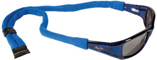Croakies XL Cotton Suiters Brillenhalter, Königsblau