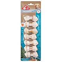 Delights - the only rawhid chew with meat in the middle Long lasting for better dental health With anti-plaque formula 9 out of 10 dogs prefer 8-in-1 Delights Suitable for dogs between 2kg and 12kg