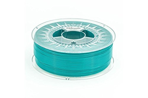 extrudr PETG ø1.75mm (1.1kg) 3d printer filament, (RGB 080:209:204)'TURQUOISE - Made in EU at a fair price!