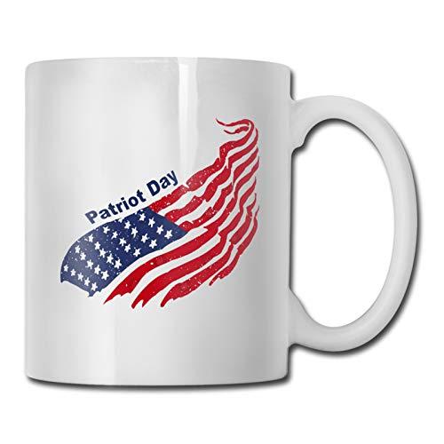 The Patriot Party - Taza de café divertida, 325 ml, para oficina de estudiantes