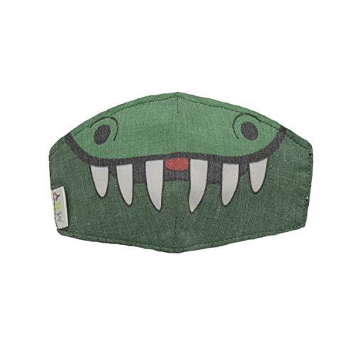 MI HIJA Y YO Pack 3 Unidades Máscaras Mascarillas Infantiles, niños. Cobertores faciales comunitarios. Estampados de Animales. De Tela, Lavables, Reutilizables. Incluye 6 filtros Regalo.