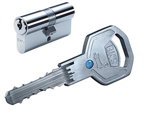 Schließzylinder BKS Serie 50 livius, Länge: 40/45mm GF mit 3 Schlüssel