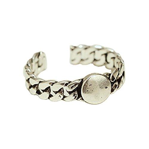 Ouverture Anneau Accessoires Rétro Bague Fashion Silver Ring Ring Tail Simple