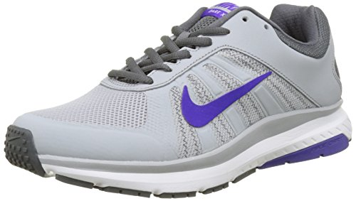 Nike Dart 12, Scarpe Running Donna, Grigio (Wolf Grey/Fierce Purple), 40 EU