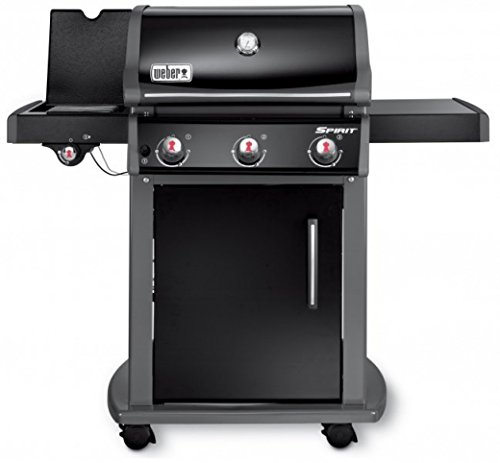 Weber Barbacoa de gas-Spirit E 320Original GBS, Black