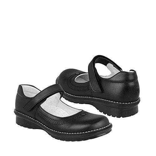 DOMINIQ Zapato Escolar Negro 19