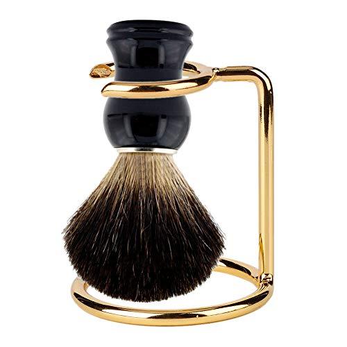 Support de rasoir de sécurité, outil de rasage de support de brosse de rasage en acier inoxydable pour hommes