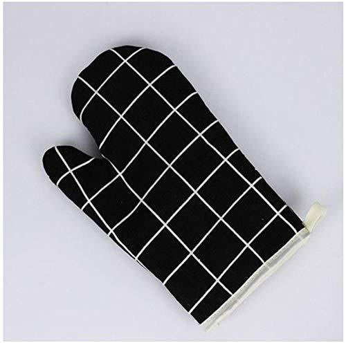 APPLL Verdicken Sie Baumwollhandschuh Hitzebeständiger Handschuh Küche Kochen Mikrowellenhandschuh Isolierter Rutschfester Handschuh B-C